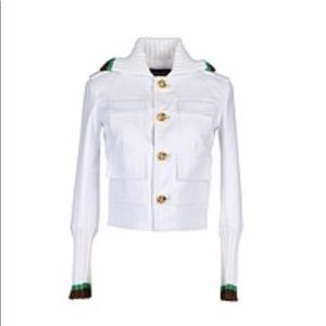 Dsquared Jacket with knit trim